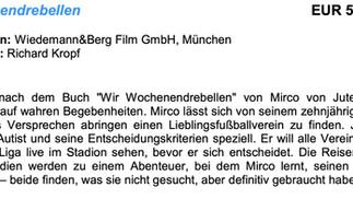 """""""Wochenendrebellen"""" FFF Bayern gefördert"""