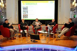 Zwei Panels beim Fernsehfilmfestival Baden-Baden