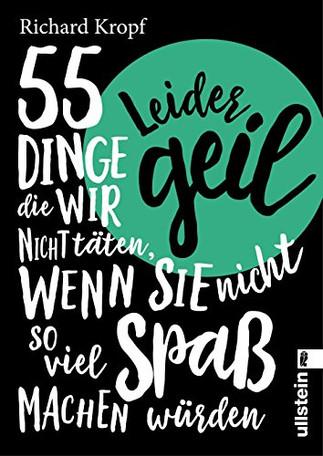 """""""Leider geil - 55 Dinge..."""" mit neuem Cover als E-Book"""