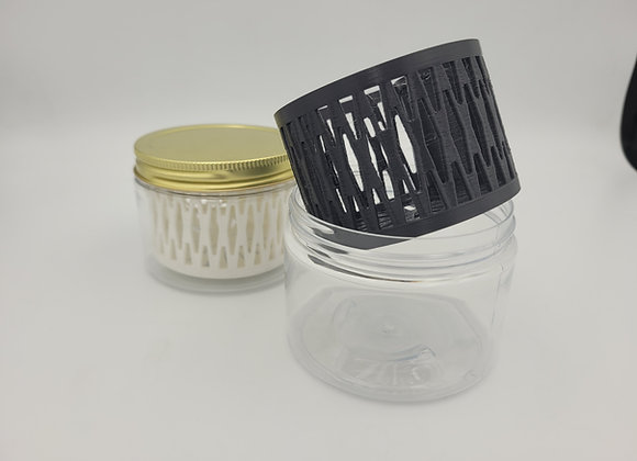 12 ounce jar and strainer