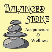 balanced stone acupuncture and wellness logo