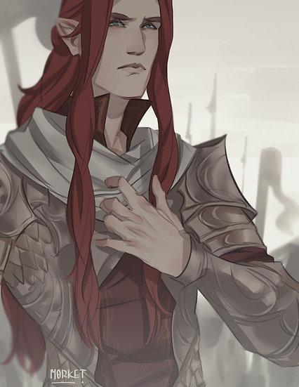 A ~ Autumn Elf Guard
