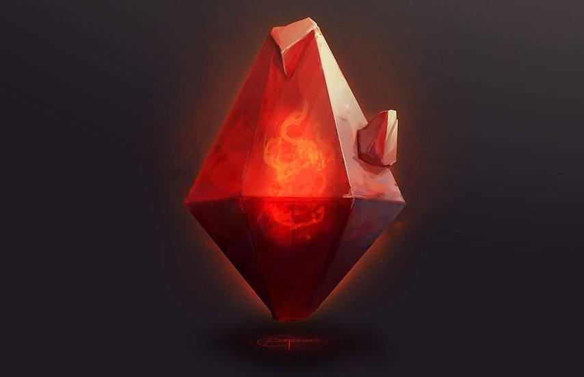Fire Crystal Reiki ~