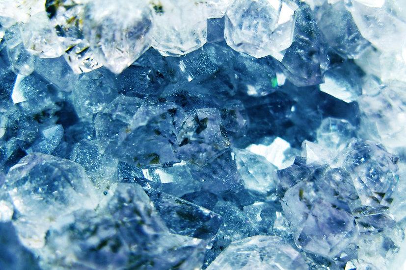 Crystalline Clear Blue Multidimensional ~ Purify, Evolve, Raise Vibration!