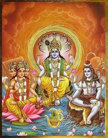 Hindu Triumvirate Level 1 ~ Lord Brahma, Lord Shiva, Lord Vishnu ~ 3 Attunements