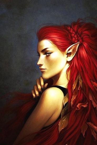 S ~ The Fiery Autumn Elf