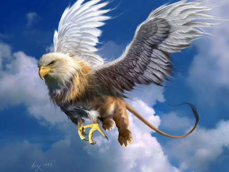 The Legendary Griffin  ~ Balance, Protection, Strength, Safety, Purification!