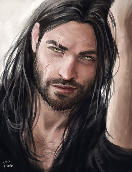 Male Werewolf ~ Discernere Companion