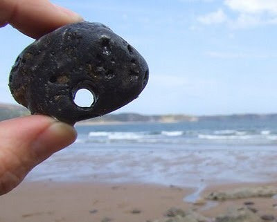 Etheric Hag Stone ~ For Healing & Protection