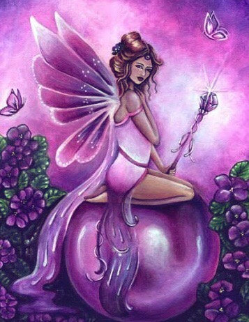 Amethyst Rose ~ Fairy Magick Empowerment