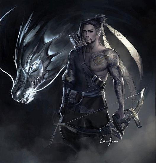S ~ Elder Black Dragon Shifter