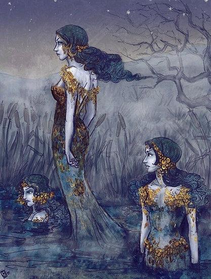 Ladies of the Lake ~ Welsh Water Faery Empowerment