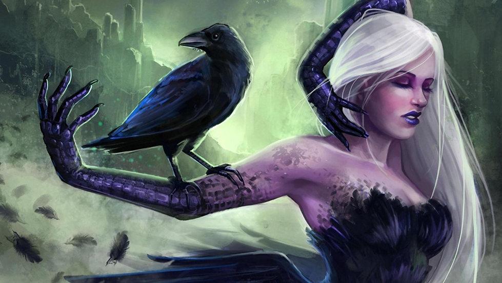 D ~ Crow Shifter Sorceress