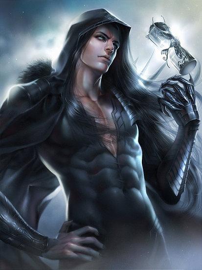 K ~ Black Dragon Shifter