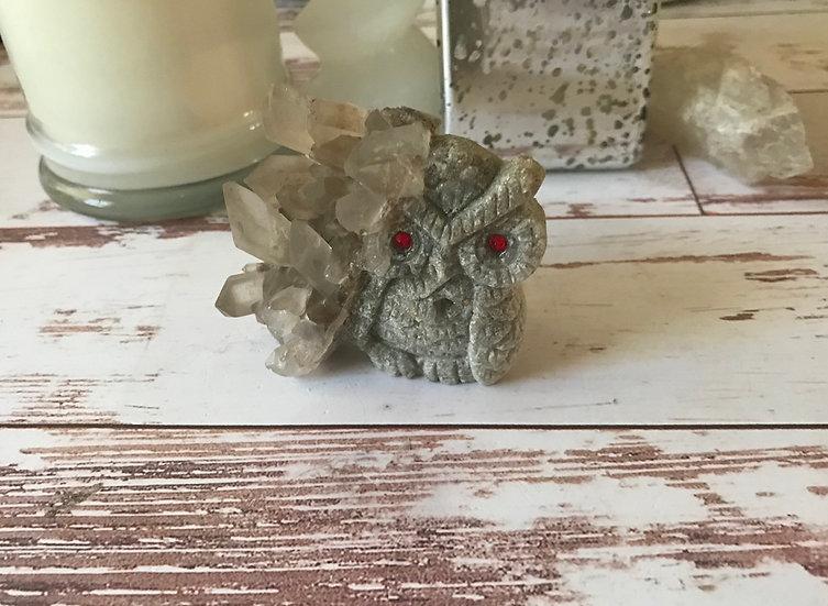 Quartz Crystal Owl ~