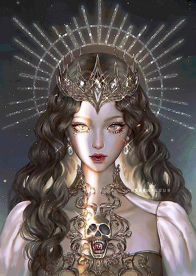 Discernere Companion ~ A ~ Crystallus Elf Queen