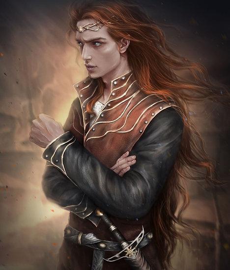 H ~ Autumn Elven Prince