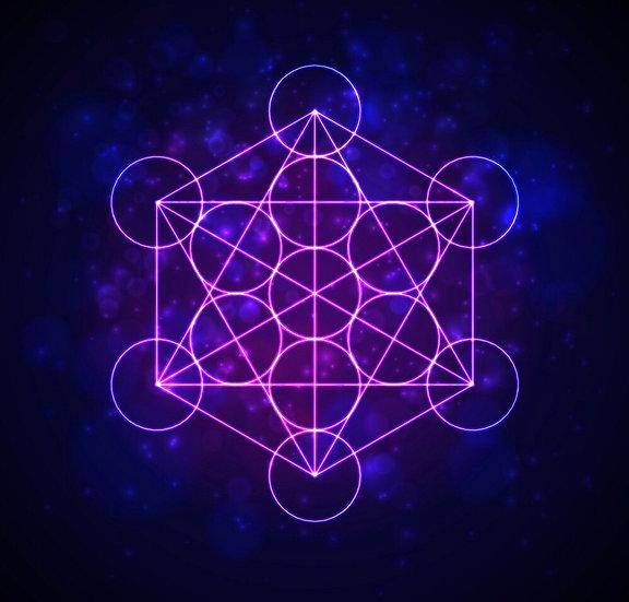 Metatron's Cube Attunement ~