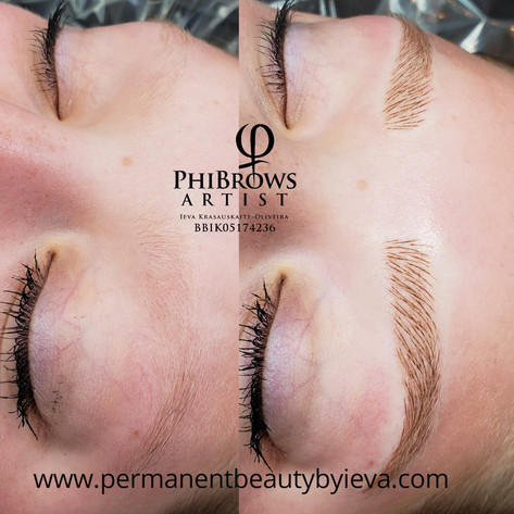 Microblading, Permanent Beauty by Ieva