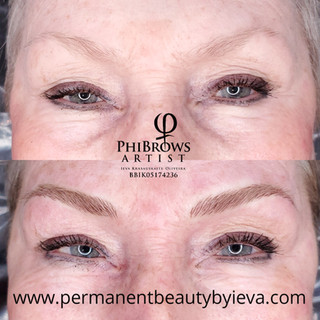 MIcroblading for matured skin