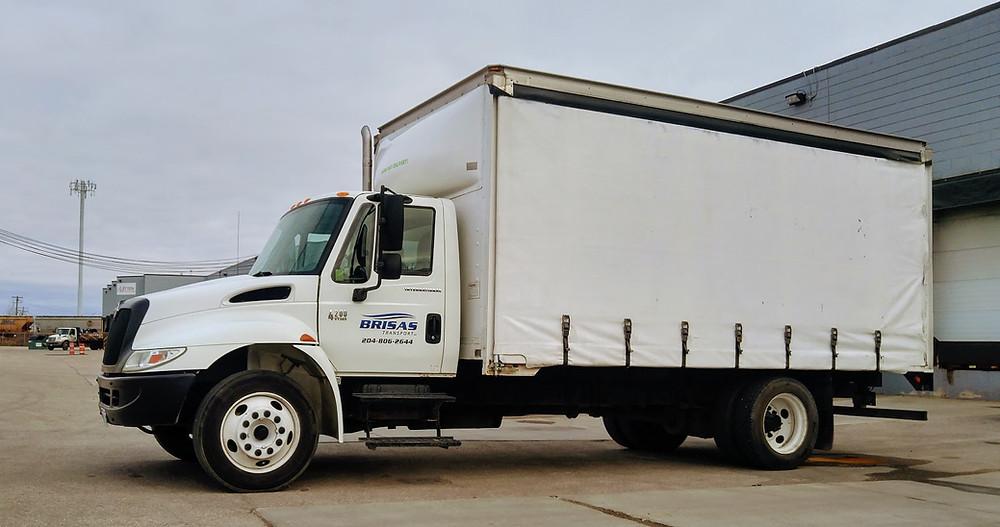 Brisas Transport Curtain Side Truck