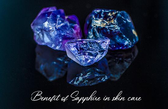The power of Sapphire - พลอยไพลินในผลิตภัณฑ์บำรุงผิว