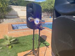 Alquiler equipos de sonido para celebraciones privadas