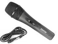 Micrófono de mano con cable