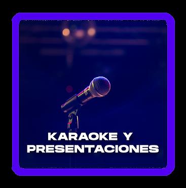 Alquiler de altavoces para karaokes
