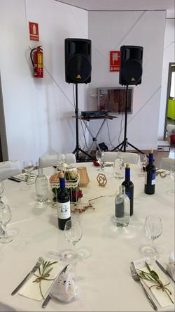 Alquiler de equipos de sonido para bodas Barcelona