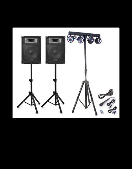 Alquiler sonido y luz para fiestas