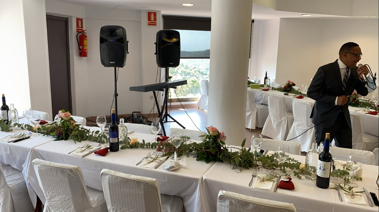 Alquiler altavoces bodas