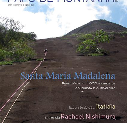 Revista Papo de Montanha - Agosto 2013