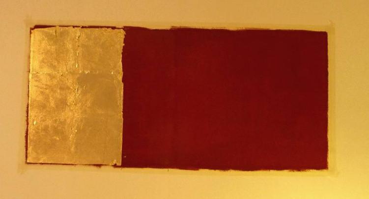 feuille-cuivre-mur-or-cadre-lodeve