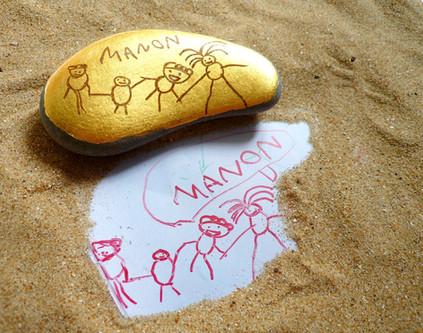 dessin-enfant-commande-sur-mesure-or-cadre