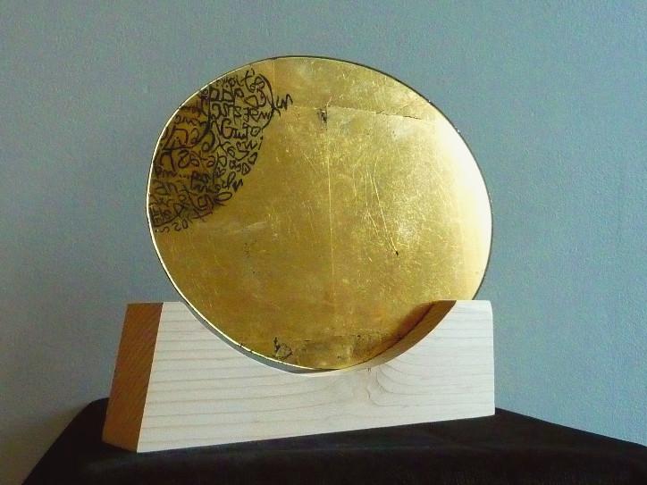tableau-miroir-verre eglomise-atelier-or-cadre
