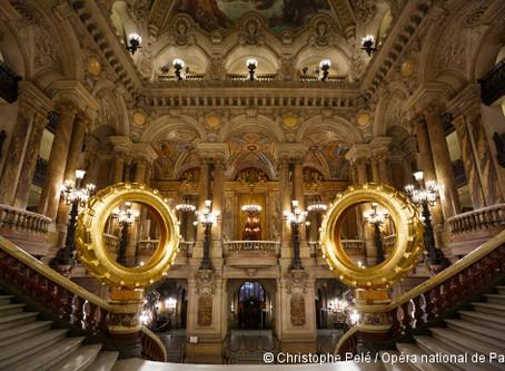 Les Saturnales de Claude Lévêque à L'Opéra Garnier