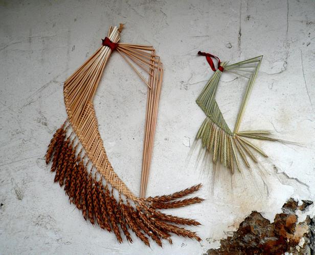 harpe-ble-porte-bonheur-wheat-weaving-or-cadre