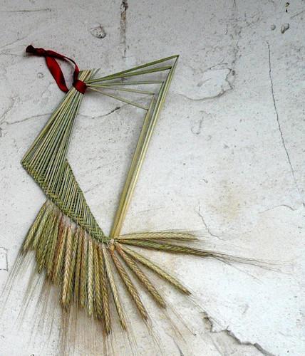 harpe-ble-vert-tressage-or-cadre