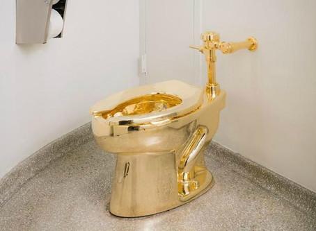 Le Musée Guggenheim met des toilettes en or à disposition de ses visiteurs