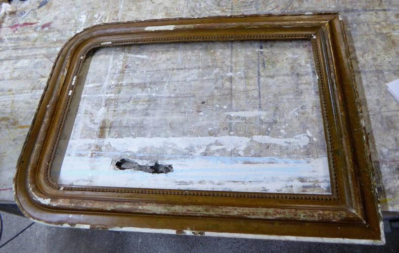 miroir-style-louis-philippe-restauration-laetitia nicolas-or-cadre-lodeve