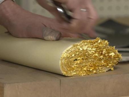 Le battage de l'or au Japon