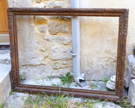 cadre-sculpte-bois-restauration-or-cadre