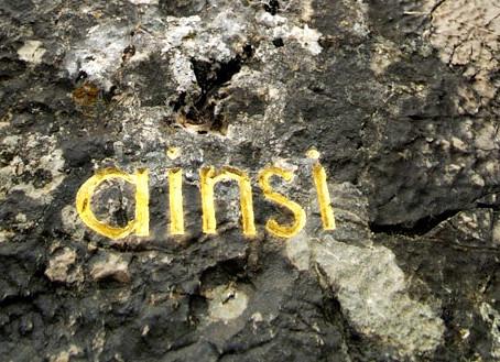 herman de vries, des traces d'or dans le paysage