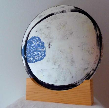 Tableau-miroir-calligraphie-verre-eglomise-atelier-or-cadre-dorure-lodeve