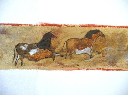 mur-cuivre-prehistoire-or-cadre-chevaux-lascaux.jpg
