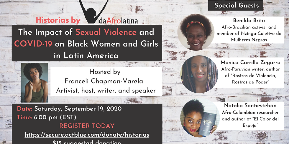 The Impact of Sexual Violence and COVID-19 on Black Women in Latin America