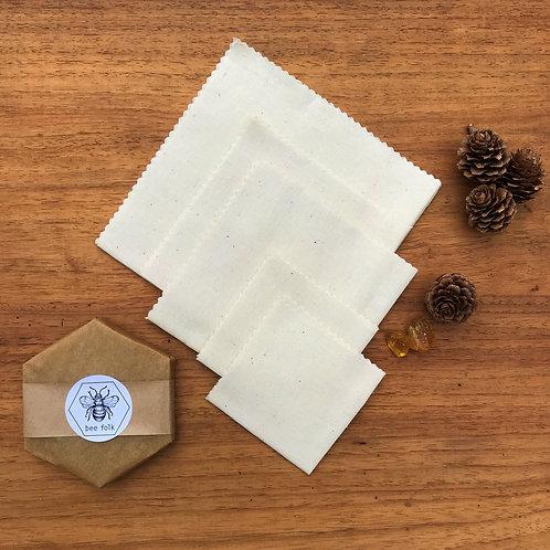 bee folk bar and Natural Hemp Organic Cotton Kit