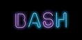 new logo- Bright Bash words with black b
