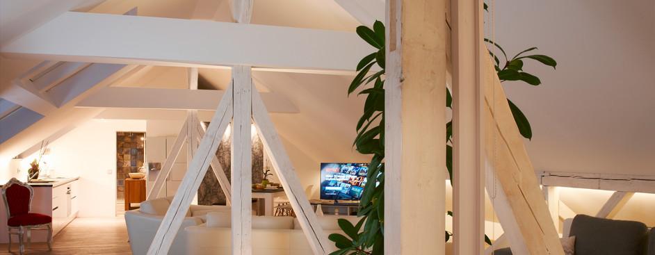 Eingang-Wohnzimmer-Abend